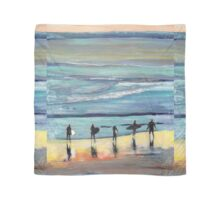 Day at Surfer Joe's by Riccoboni, Surfing Picture Scarf
