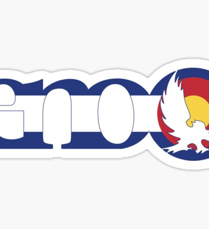 Eno Sticker Colorado Flag Sticker