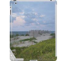 Boardwalk to beach iPad Case/Skin