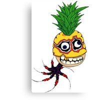 Pineapple Octopus Rocket Man, III Canvas Print