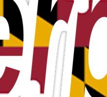Terps-Flag  Sticker