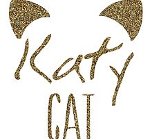 KatyCat Golden Glitter by PatiDesigns