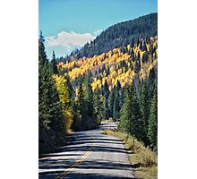 Fall in the Rockies #15 Photographic Print
