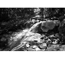 Duck Creek (in Black and White) Photographic Print