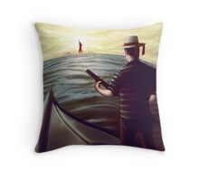 From Italy to New York Throw Pillow