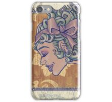 Girl with the Bow in her Hair iPhone Case/Skin