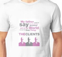 Roger Sterling Knows Best Unisex T-Shirt