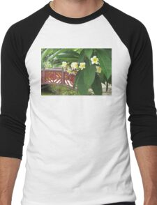 Plumeria Exotique Men's Baseball ¾ T-Shirt