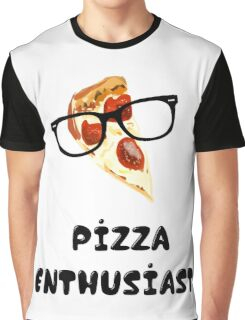 Pizza Enthusiast Graphic T-Shirt