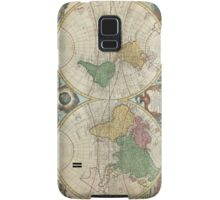 Vintage Map of The World (1744) Samsung Galaxy Case/Skin