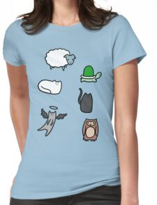 Cute Animals! Womens Fitted T-Shirt