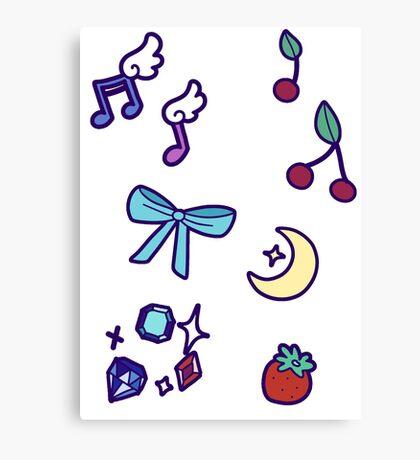 Cute! Canvas Print