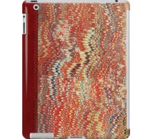 Vintage Victorian Feathered Pattern Book Cover iPad Case/Skin