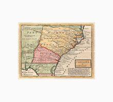 Vintage Map of The Carolinas (1746) Unisex T-Shirt