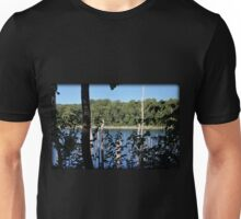 Late Summer Cove Window Unisex T-Shirt