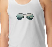 City Through Sunglasses Tank Top