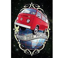Cross the World - Bus T2 Photographic Print