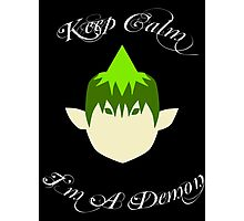 Keep Calm-Amaimon Photographic Print