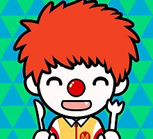 Anime Ronald McDonald by samya