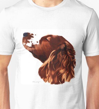 Welsh Springer Spaniel Art Unisex T-Shirt