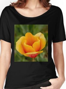 Orange Tulip Women's Relaxed Fit T-Shirt