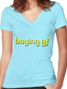 Runescape / RS - Buying GF Women's Fitted V-Neck T-Shirt