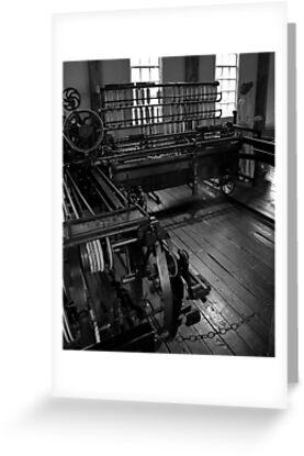 Inside Slater Mill by Barry Doherty