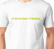 Runescape / RS - Free armor trimming Unisex T-Shirt