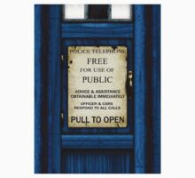 Free For Use Of Public - Tardis Door Sign - (please see description) by Ra12