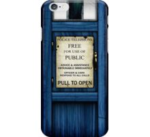 Free For Use Of Public - Tardis Door Sign - iPhone Case iPhone Case/Skin