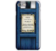 Free For Use Of Public - Tardis Door Sign - iPhone Case iPhone Case/Skin