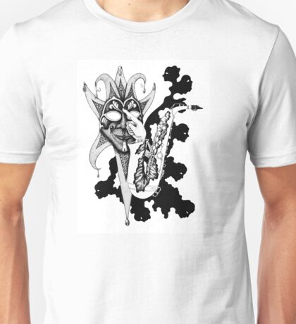 Understanding Music surreal ink pen drawing Unisex T-Shirt