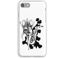 Understanding Music surreal ink pen drawing iPhone Case/Skin