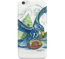 Mount Rainer and the Seahawk iPhone Case/Skin