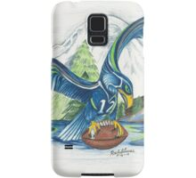 Mount Rainer and the Seahawk Samsung Galaxy Case/Skin