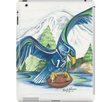 Mount Rainer and the Seahawk iPad Case/Skin