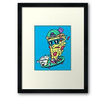 Pizza and Ranch Framed Print