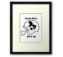 Uncle Rico MVP Framed Print