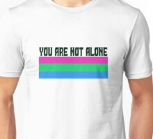Not Alone (Poly) Unisex T-Shirt