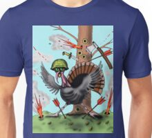 Funny Thanksgiving turkey drawing Unisex T-Shirt