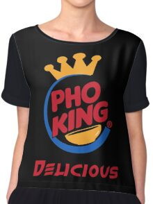 Pho King Delicious Chiffon Top