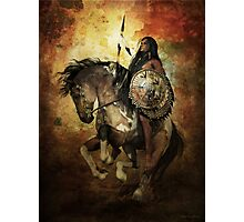 Warrior Photographic Print