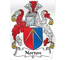 Norton Coat of Arms (Irish) Poster