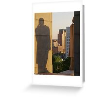 Protective Shadow Greeting Card