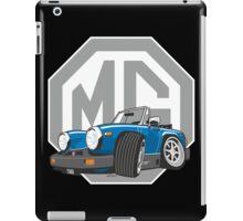MG Midget 1500 cartoon blue iPad Case/Skin