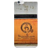 Scranton Lace Logo iPhone Case/Skin