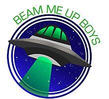 Beam Me Up! Photographic Print
