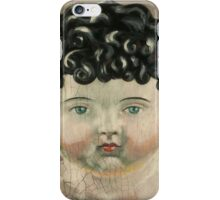 I'm Fine #3 (Antique German Boy Doll) iPhone Case/Skin
