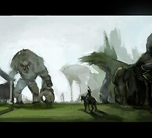 Giant In the Distance by stupahart