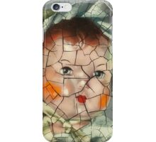I'm Fine #16 (Antique Baby doll in Bonnet) iPhone Case/Skin